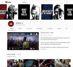 Adidas: Targeting teens on social media